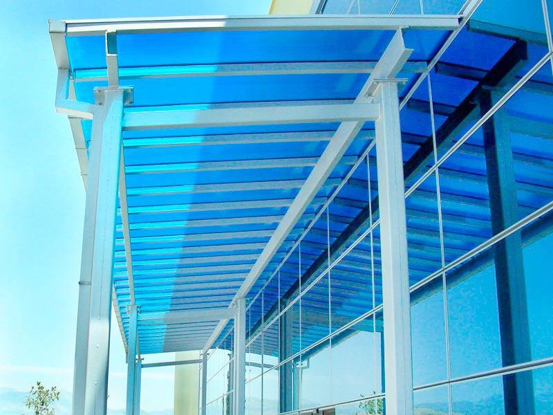 Ipp materiales pl sticos para marquesinas p rgolas y for Plastico para tejados