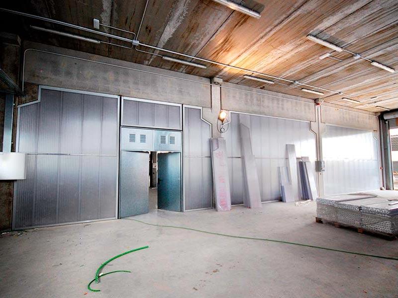 Ipp paredes de pl stico luminosas policarbonato - Materiales para insonorizar paredes ...