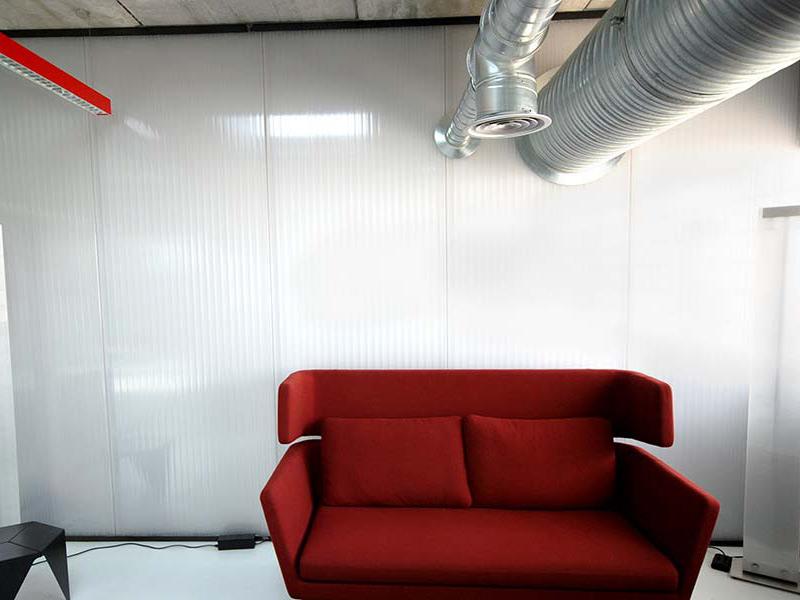 ipp paredes de pl stico luminosas policarbonato