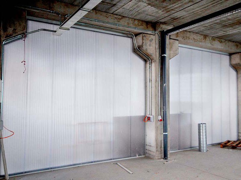 Ipp paredes de pl stico luminosas policarbonato for Laminas de plastico para paredes