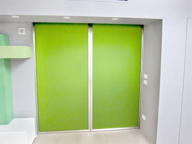Ipp paredes de pl stico luminosas policarbonato - Puertas correderas de plastico ...