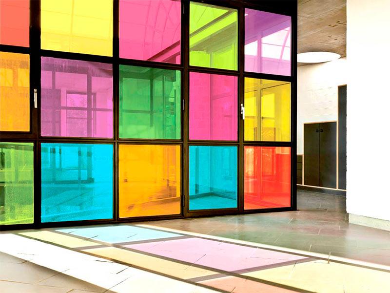Ipp l minas de privacidad para opacar cristaleras - Cristales de colores para puertas ...