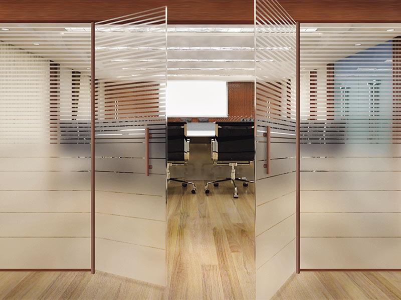Ipp l minas de privacidad para opacar cristaleras for Vinilos para oficinas