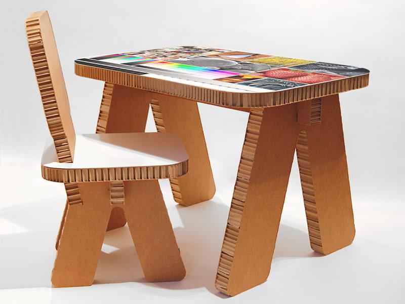 Ipp planchas de cart n para decoraci n plv y piezas for Muebles de carton precios